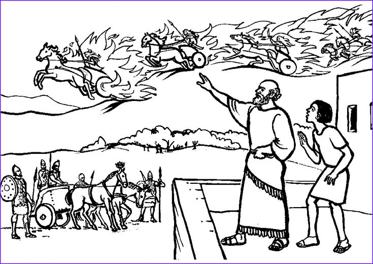 45 Unique Gallery Of Elisha Coloring Pages in 2020