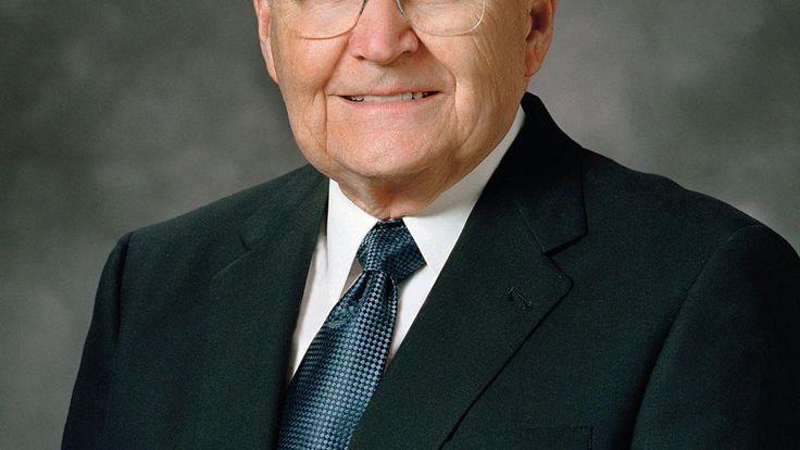 Fallece Elder L. Tom Perry, una de las máximas autoridades de la Iglesia mormona