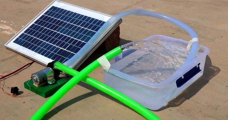 How to Build Your Own Solar-Powered Water Pump