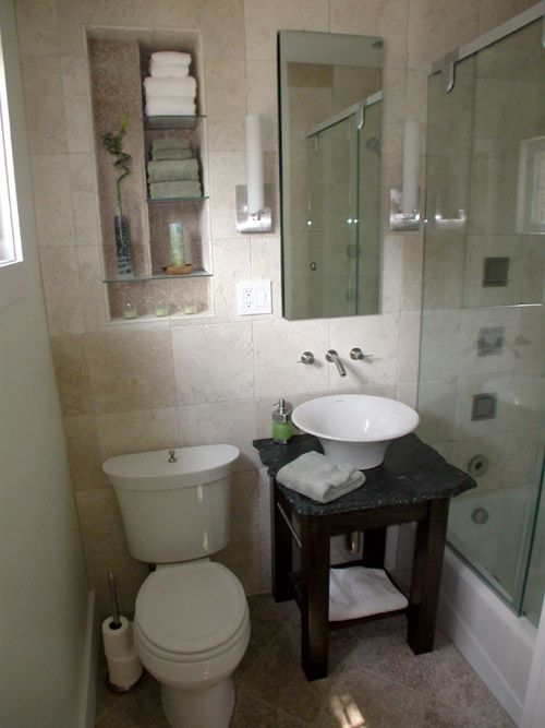 Tiny Master Bathroom Remodel (After and Before) | Small ...
