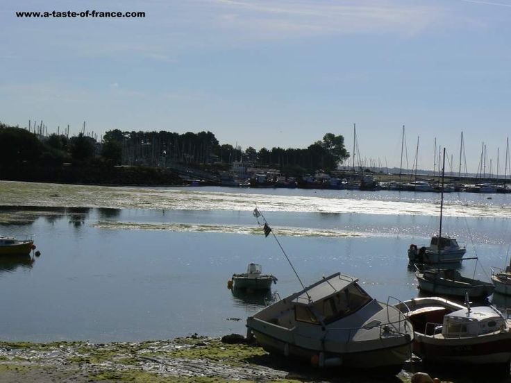 The estuary at La Foret Fouesnant in #Brittany #France