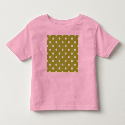 Babies designers tshirt : pink, green