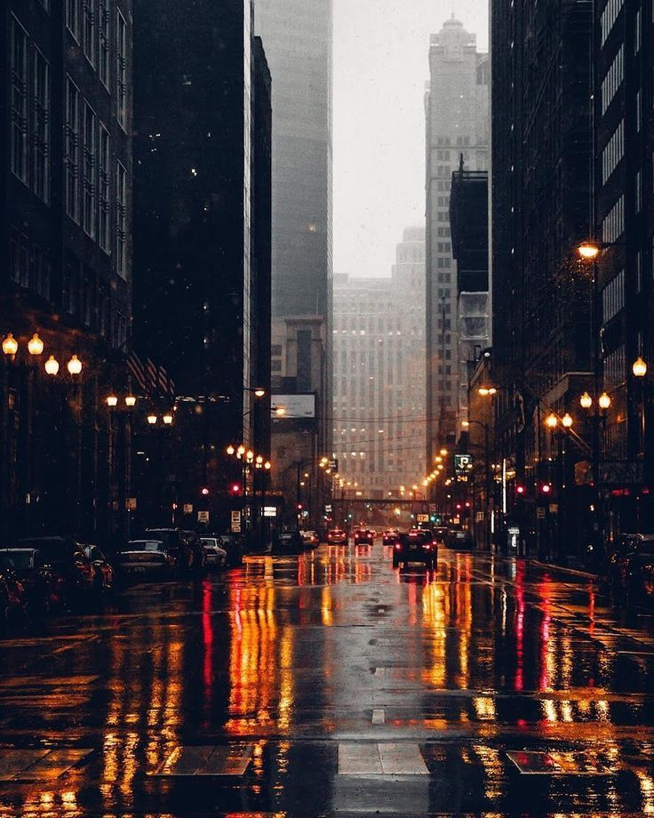 Is There Any Vibe Better Than Rain In City Lights