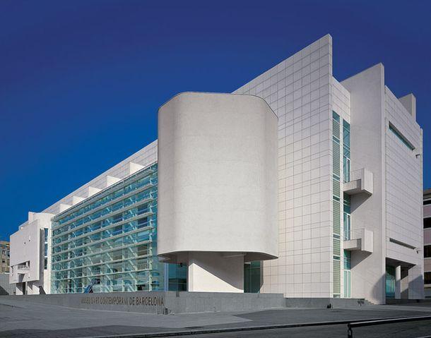 Музей современного искусства, Барселона, Ричард Мейер