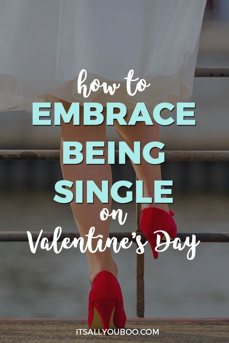 Feeling sad and lonely that you're single on Valentine's Day? Don't be! Click here to learn the humorous history of Valentine's Day and how to embrace being single. Plus, get ideas on how to spend Valentine's Day alone or with friends. #valentines #vday #valentinesday #galentinesday #galentine #alone #depressed #anxiety #bestrong #lonely #loneliness #mentalhealth #selfcare #selflove #loveyourself #confidence #selfesteem #selfconfidence #confidenceisbeauitful #millennialblogger