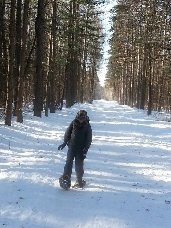Winter fun: family snowshoeing ~ ParentSource.ca Durham Region's Parent and Kid's Guide