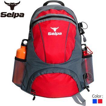 Hiking selpa-25l outdoor travel double-shoulder travel bag backpack female ride backpack male