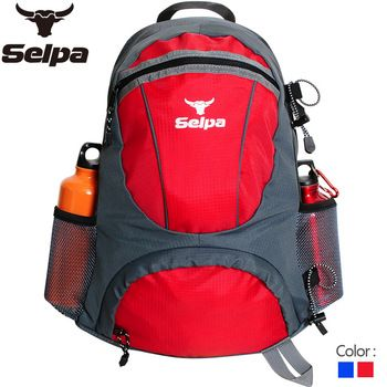 Hiking selpa-25l outdoor travel double-shoulder travel bag backpack female ride backpack male