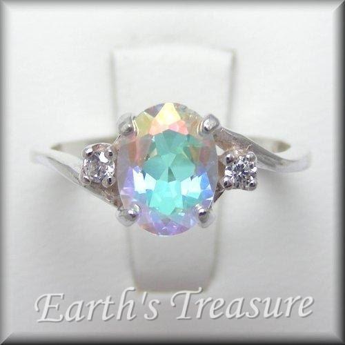 Fairy Ring Fairy Jewelry Mercury Mist by MysticTopazJewelry