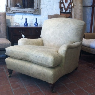 Howard & son lounge chair 1890c