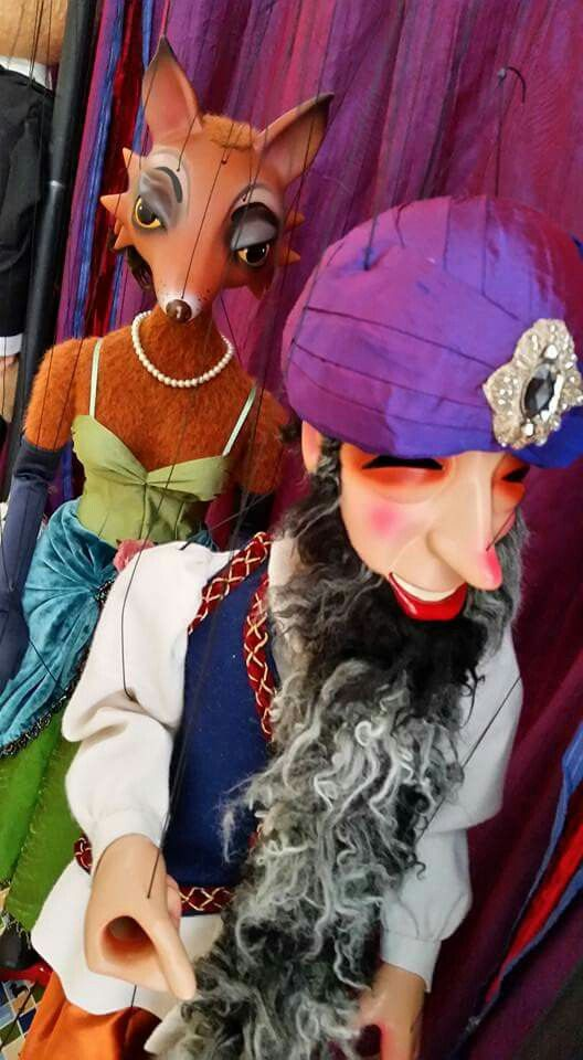 The amazing Fratello Marionettes.