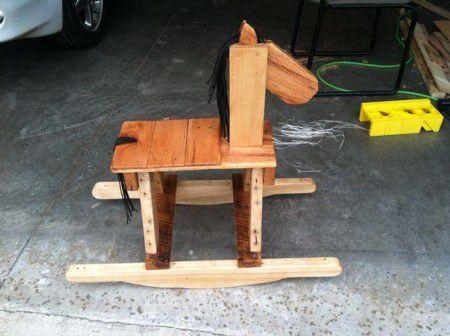 Como hacer un caballo de madera balancin