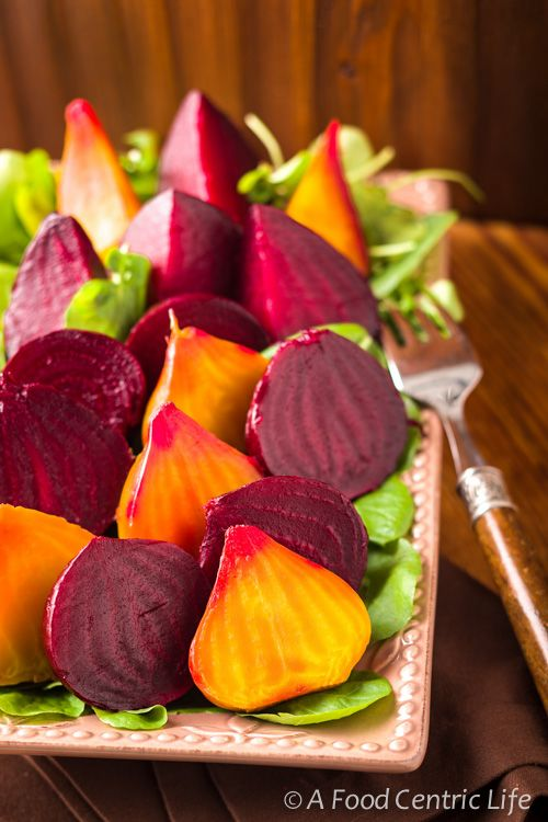 How to roast fresh beets. Easy and so good for you. Add to a tossed green salad with goat cheese. Add orange segments, pine nuts, fresh mint, a light vinaigrette. Terrific. Nice way to add vegetables to your diet. Recipe on my site. Hope you enjoy!
