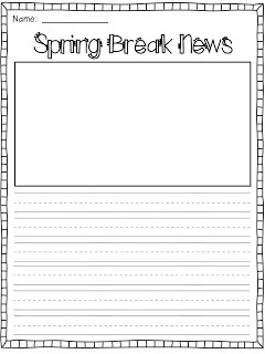 spring break worksheets for kindergarten spring printable images gallery category page 1. Black Bedroom Furniture Sets. Home Design Ideas