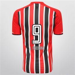 Sao Paulo FC 2015-16 Season Away L.Fabiano #9 Jersey [PF144362447]