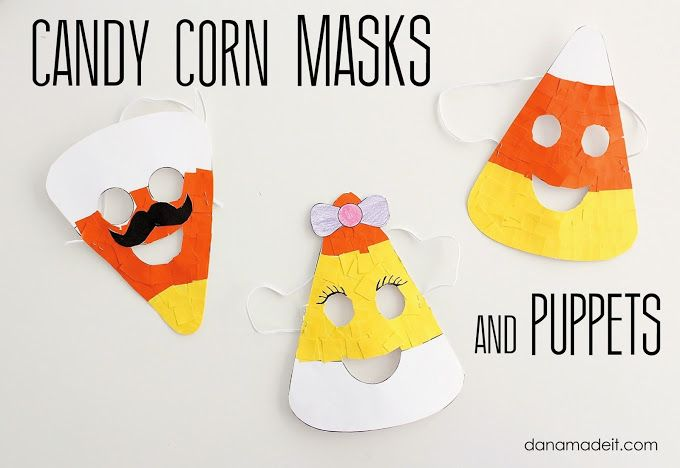 Candy Corn Crafts For Kids