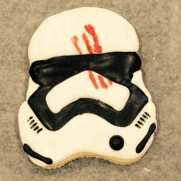 Star Wars The Force Awakens FN-2187 cookies (Finn)