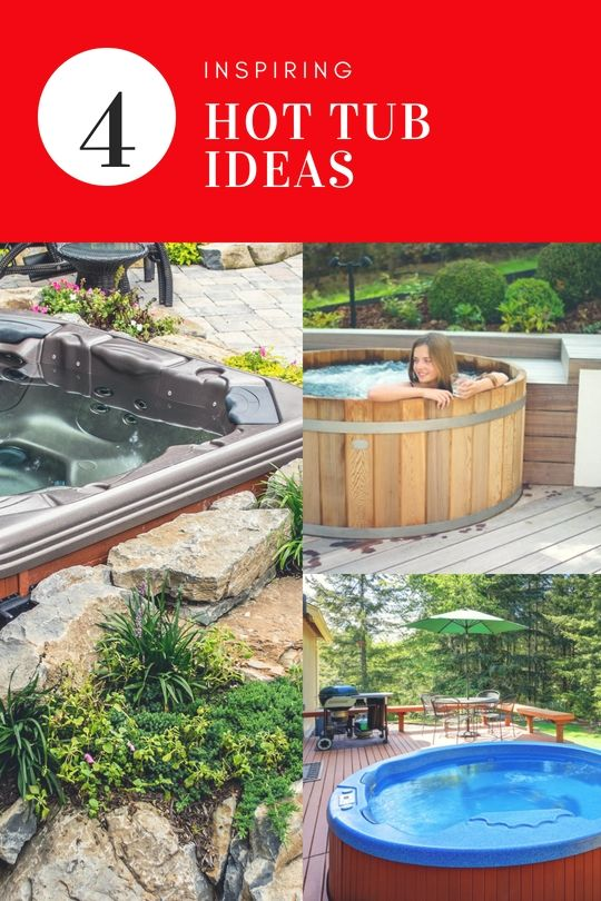 Hottub Landscape Projects Fun In The Sun Pinterest Tub