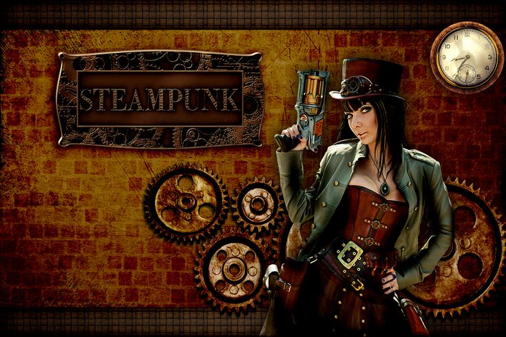steampunk art steampunk girl mobile wallpaper with