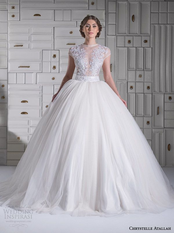 Chrystelle At Spring 2017 Wedding Dresses