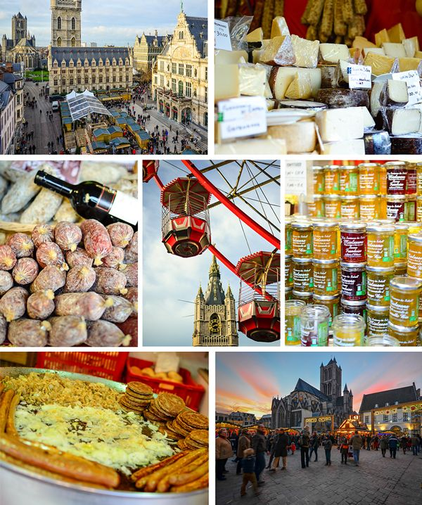 Food and fun at the Ghent Christmas Market - 3 Christmas Markets in #Belgium via CheeseWeb.eu
