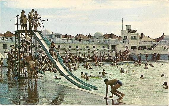 50 best wirral open air swimming pools images on pinterest - Swimming pools in liverpool with slides ...
