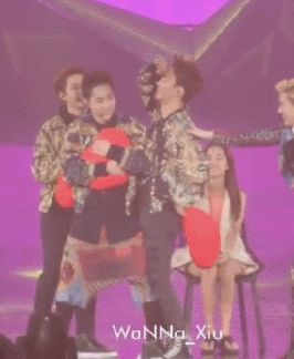 poor xiumin..i wouldn't mind changing places with him though...