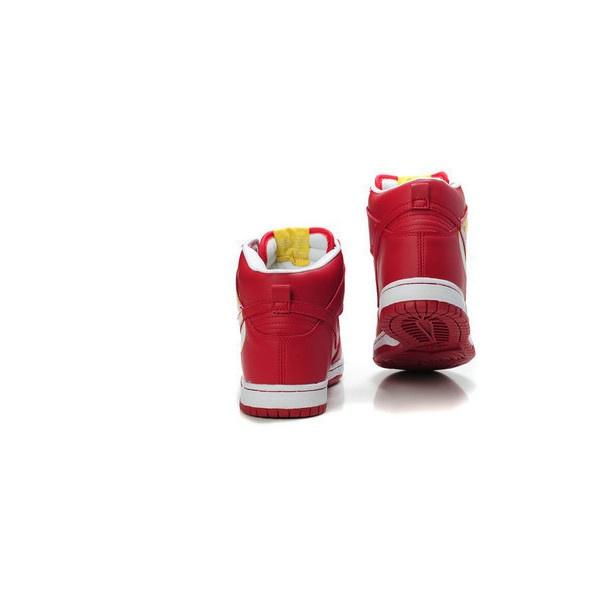 Nike Dunks DC Comics Character Shoes The Flash Nikes... via Polyvore