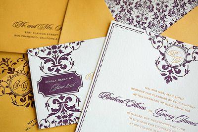 Letterpress: Wedding