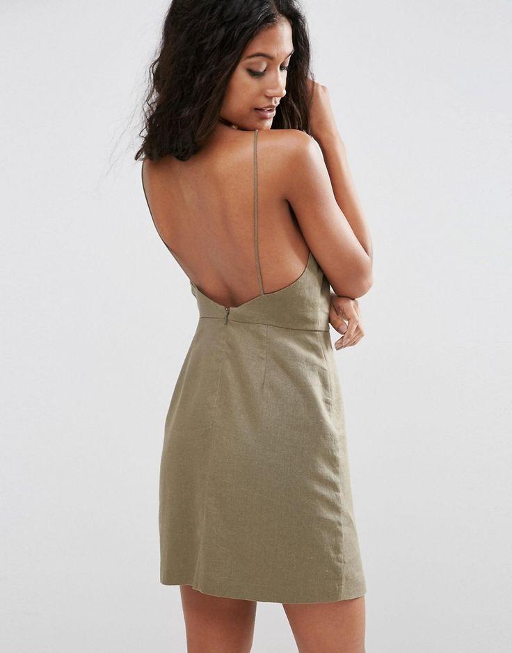Dress 2: Image 1 ofASOS Scoop Back Mini Sundress