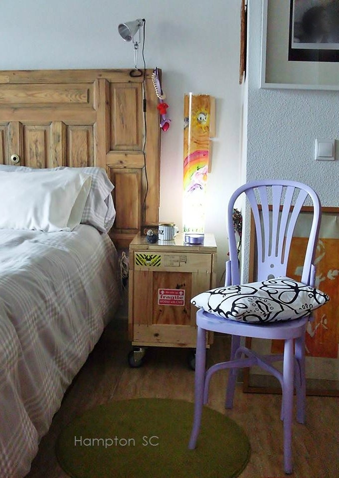 Dormitorio muebles reciclados