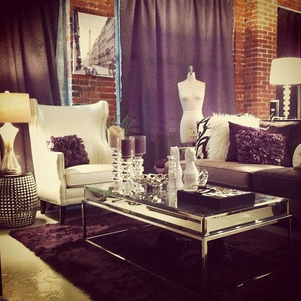 Mirrored Furniture Mannequin Fur Candles Home Pinterest