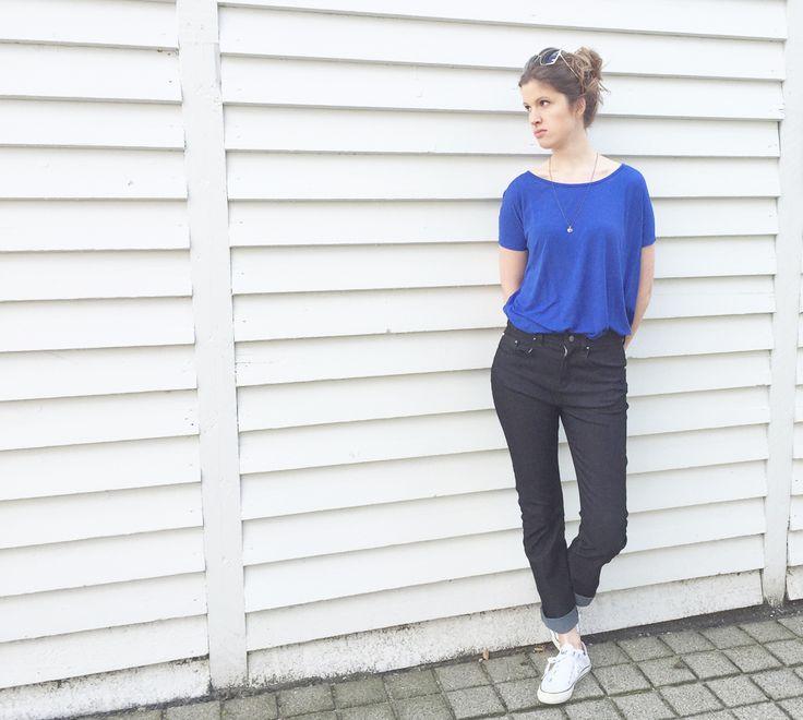 Symønster til jeans – og tips til hvad du skal have på overkroppen. #SY110