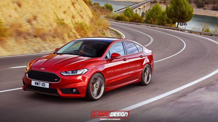 Ford Mondeo ST 2015, unas primeras recreaciones - http://www.actualidadmotor.com/2014/10/07/ford-mondeo-st-2015-primeras-recreaciones/