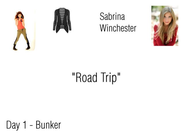 """""""Sabrina Winchester Worlds Colliding (Supernatural) 9.10 """"Road Trip"""""""" by mysticfalls1997 ❤ liked on Polyvore featuring Coleman and Laura Ashley"""