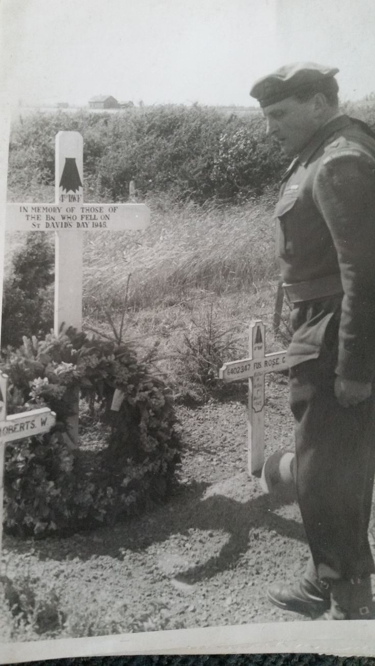 4 RWF Lt Col Hanmer Casualties from 01.04.45