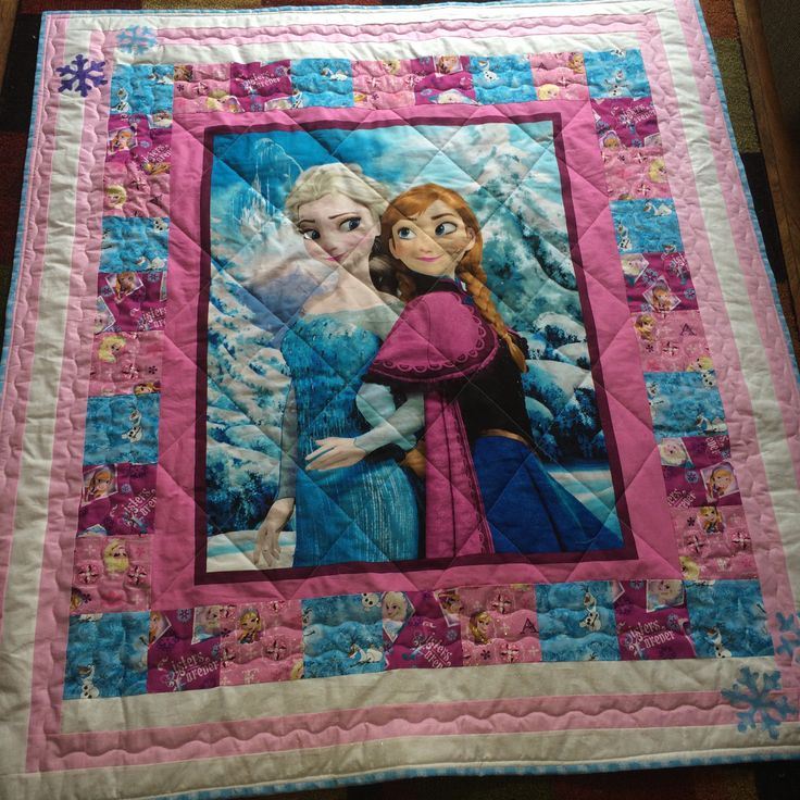 Hello Kitty Quilt Character Quilt Frozen By