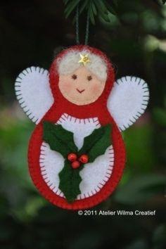 Mujer de Navidad
