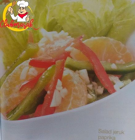 Resep Hidangan Buah Salad Jeruk Paprika, Makanan Sehat Untuk Diet, Club Masak