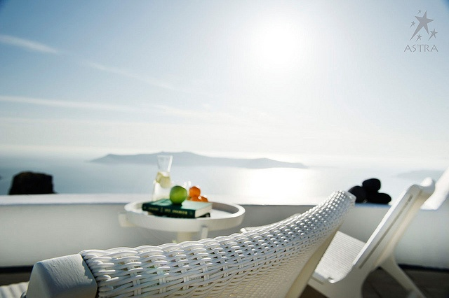 View from Astra Suites in Santorini, Greece