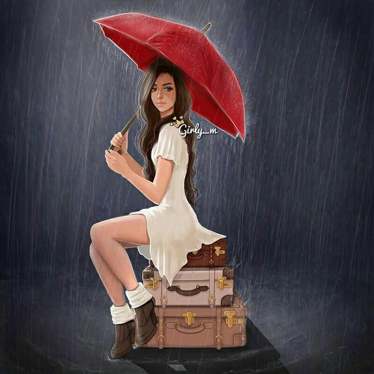 i love the rain girly m