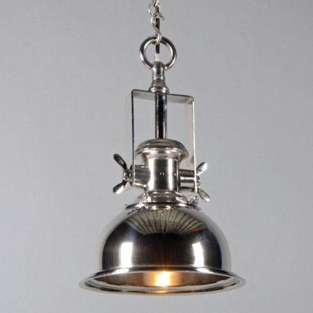 Lampa wisząca Zine S chrom