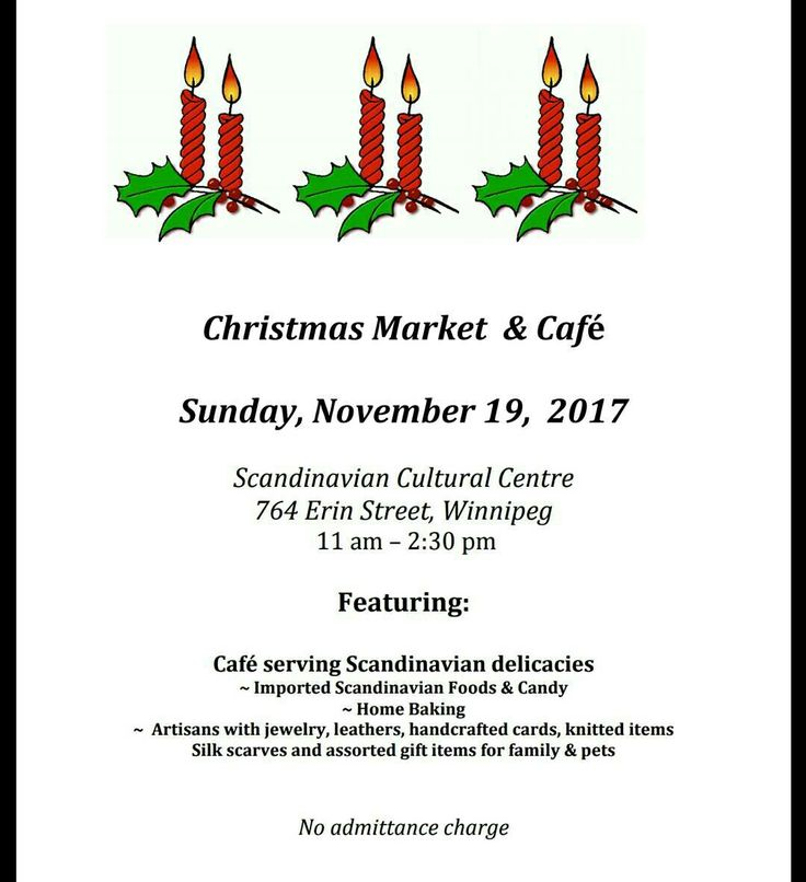 Dancing Dog Treats will be attending the annual Scandinavian Christmas market and café on Sunday November 19, 2017 from 11 am until 2:30 pm. The café features traditional #Scandinavian open faced sandwiches, two homemade soups and assorted desserts, all a special treat.  Vendors are on site selling a variety of goods including home baking, imported foods & pet treats/Supplies.  Vendors primarily accept cash only. #Winnipeg