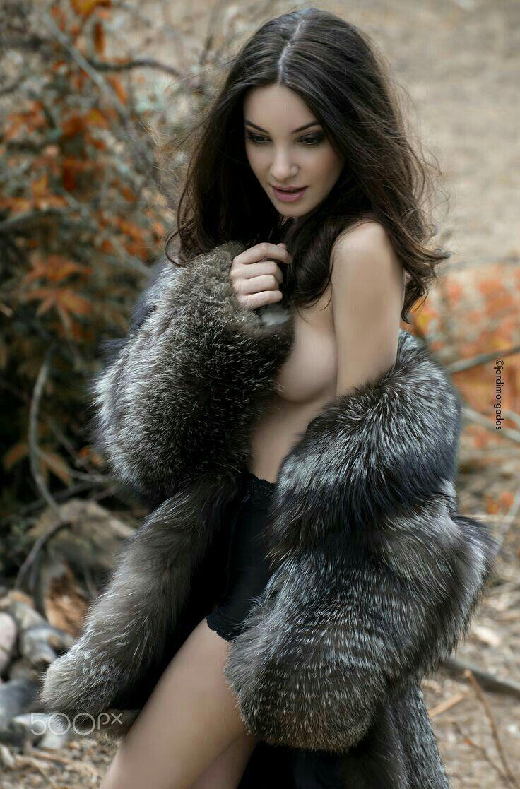 Sexy fur coats nude matures