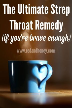 This strep throat remedy sounds crazy, but the author actually used it to cure (diagnosed!) strep throat while pregnant and wanting to avoid antibiotics. It worked incredibly well!!