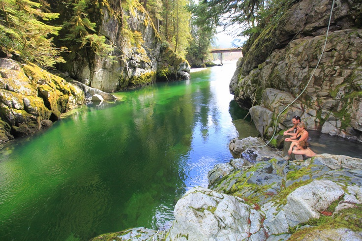 Pitt River Hot Springs - Vancouver BC | Places to visit ...