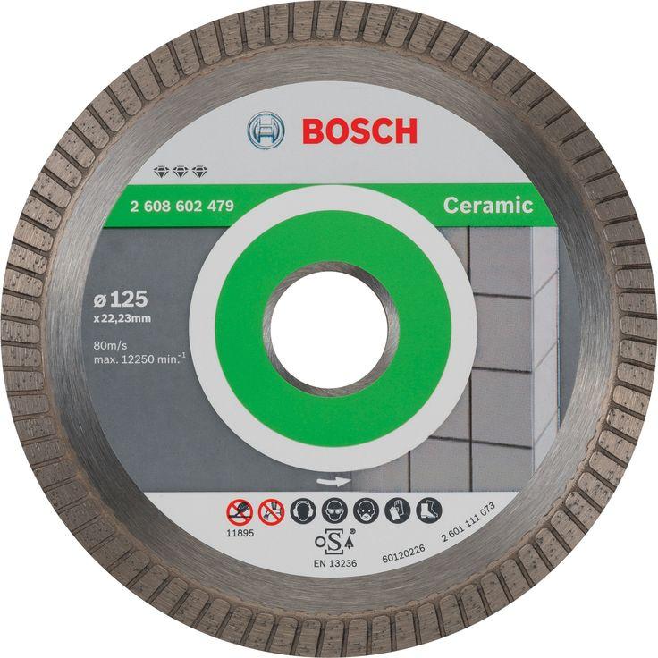 Disque Diamant Pour Pierre Bosch Diam 125 Mm En 2020 Disque Diamant Bosch Et Diamant