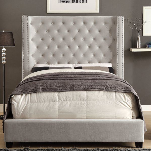 Steph Upholstered Standard Bed Upholstered Panel Bed Queen