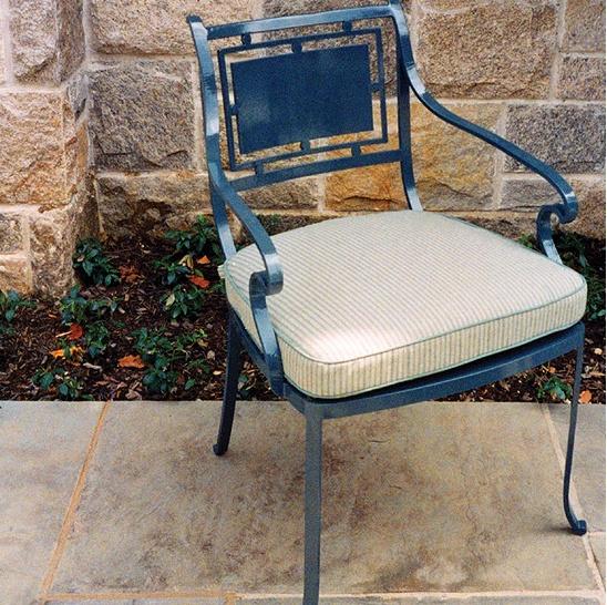 Custom outdoor furniture design by Munder Skiles