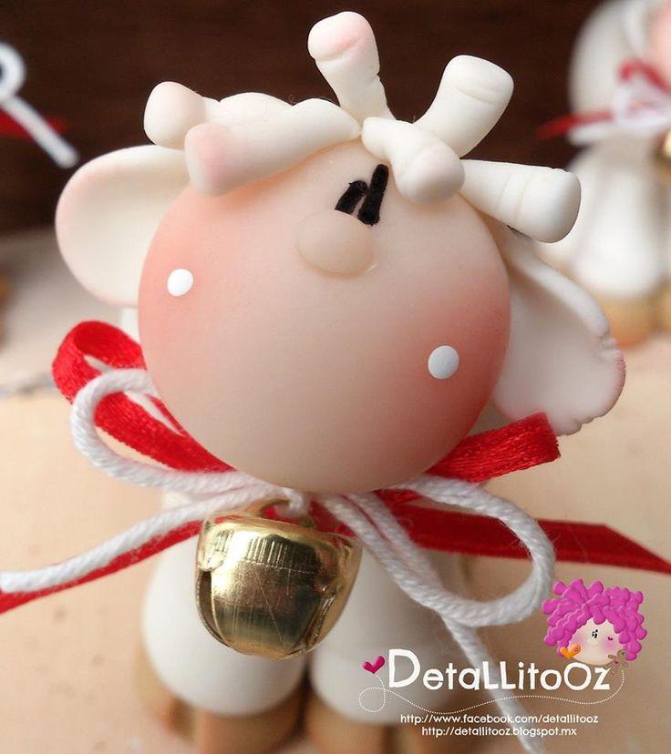 Borregada Baby sheep close up by DetaLLitoOz a spanish clayer